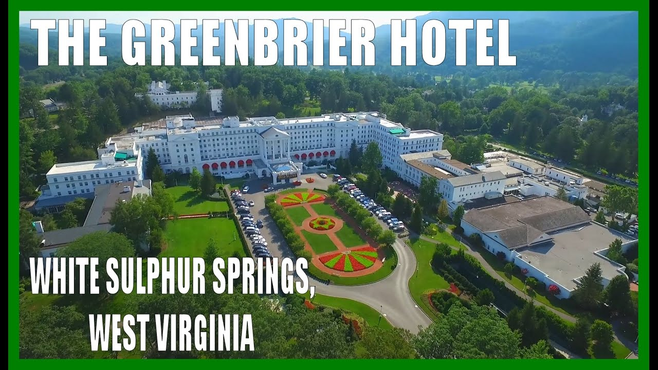 The Greenbrier Hotel Spa White Sulphur Springs West Virginia Drone Ohio