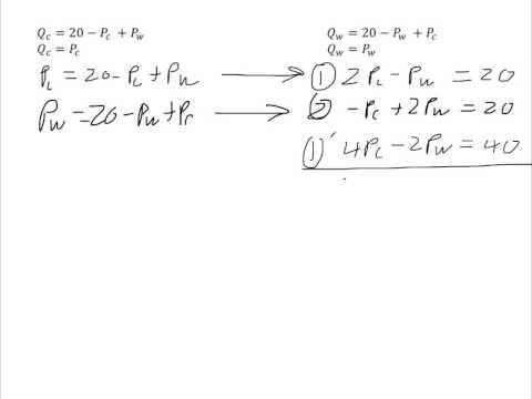 Computing a General Equilibrium Example