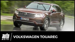 Volkswagen Touareg 2018 - ESSAI : privé de désert