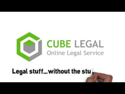 Online Legal Service  - how it works? Cube Legal