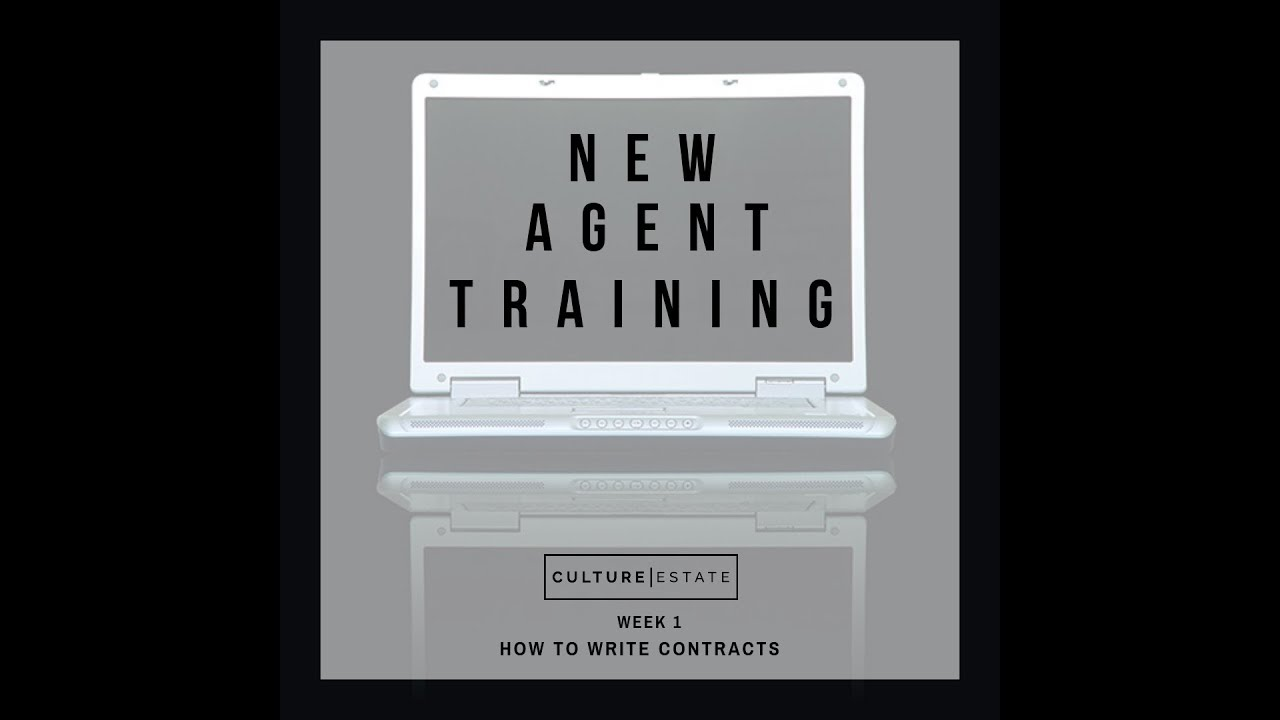 Download New Agent Training Week 1 of 8: How To Write Contracts