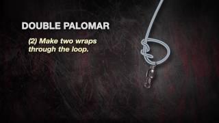 UglyStik  How to Tie a Double Palomar Knot (Dunhams Sports)
