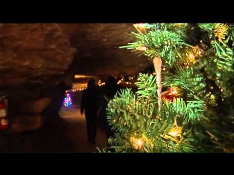 Ruby Falls Unveils New Underground Christmas Attraction - YouTube