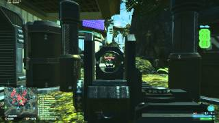 Planetside 2 - Heavy Assault gameplay - Mid range