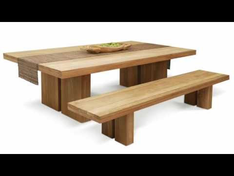 Handmade Solid Wood Dining Table