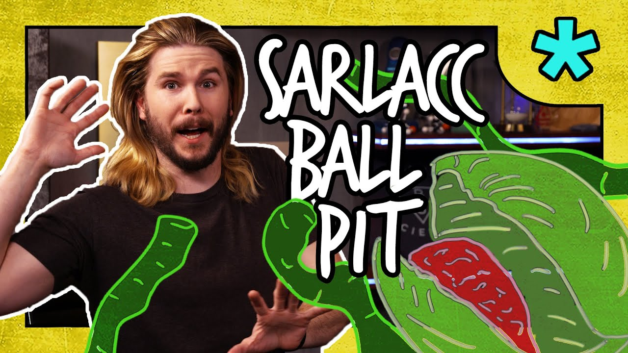 Making a Sarlacc Ball Pit | Because Science Footnotes