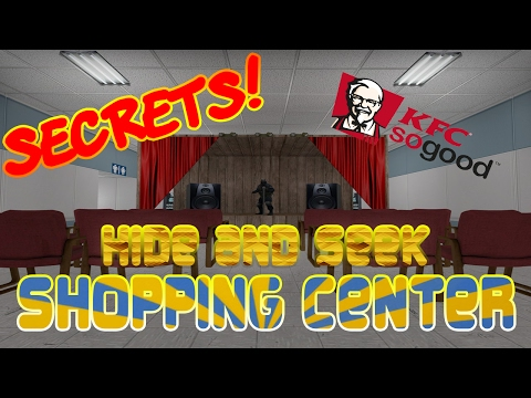 Hide And Seek Shopping Center Locations, Secrets, And Teleports!