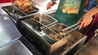 BẾP CHIÊN NHÚNG ĐIỆN ĐƠN ĐA NĂNG - Máy chiên gà, khoai tây, xúc xích ►ĐT: 0936016622
