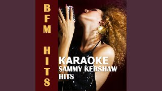 Fit to Be Tied Down (Originally Performed by Sammy Kershaw) (Karaoke Version)