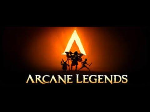 Arcane Legends L Forgotten Ruins With My Friend!