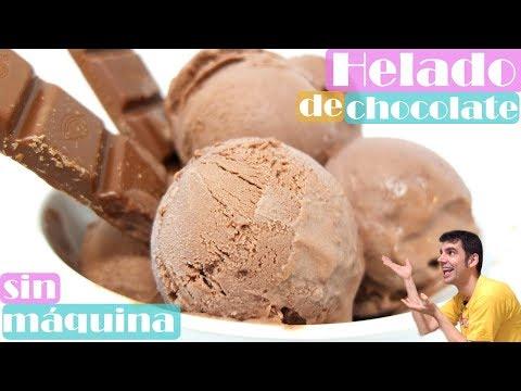 Helado de Chocolate | Sin Maquina Heladera| Sin Huevo | 3 ingredienes