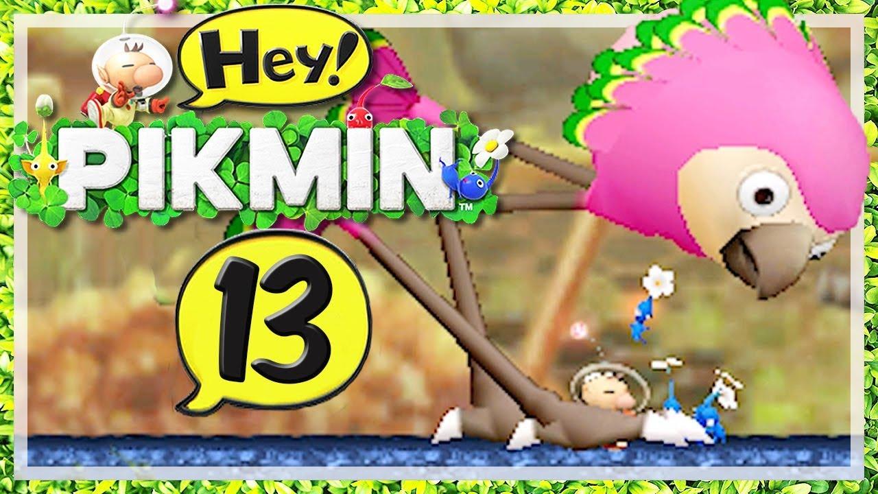 HEY! PIKMIN # 13 🌼 Metalldschungel und Müllsee! [HD60] Let\'s Play ...