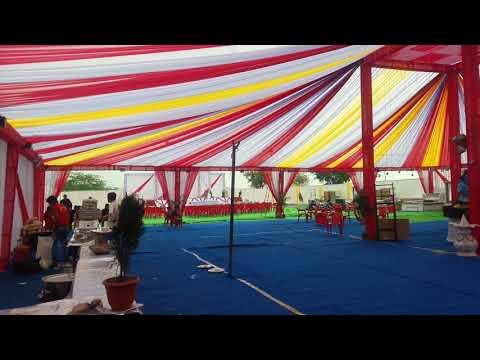 टेंट हाउस डेकोरेशन गोगाथला शादी समारोह राज डीजे रायला