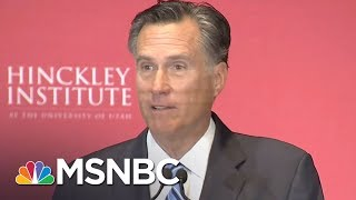 Mitt Romney Said He Wouldn