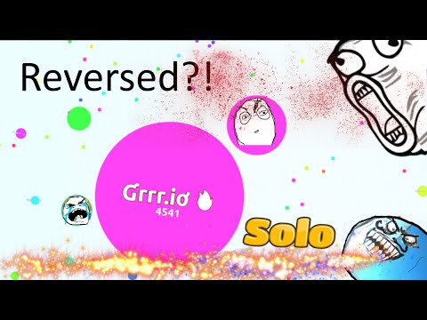 Agar.io - STAY AWAY FROM GRRR.IO - SOLO MOMENTS
