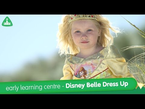 early learning centre - Disney Belle Up Dress Up