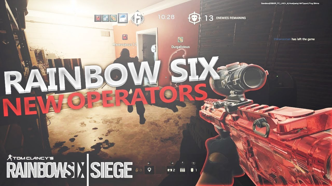Rainbow Six Siege Blood Orchid patch notes and new