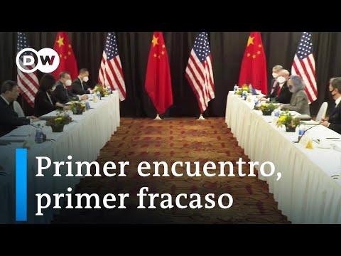 Amenazas e insultos en reunión entre China y EE. UU.