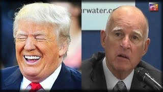 Deranged CA Governor BLINDSIDED As MAJOR City STABS Him In The BACK and Sides With Trump