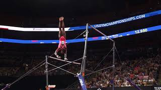 Selena Harris - Uneven Bars - 2018 U.S. Gymnastics Championships - Junior Women Day 2