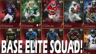 Madden 15 Ultimate Team: BASE ELITE SQUAD BUILDER! EPIC BASE SQUAD
