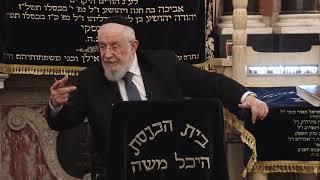 """הרב ישראל מאיר לאו יט' טבת תשע""""ט- 26/12/18 Rabbi Israel Meir"""