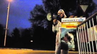 Actie tegen transport proefdieren door Air France-KLM - 1