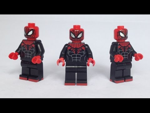 Aninimal Book: Superior Spider Man Custom Minifigure Review - YouTube