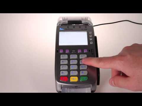 Chip Card Cash Advance Transaction On The VeriFone® VX 520