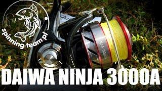 Daiwa NINJA 3000A prezentacja kołowrotka do zadań specjalnych