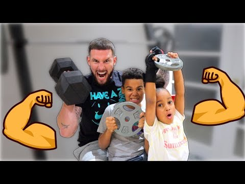 THE RUSH FAMILY WORKOUT ROUTINE