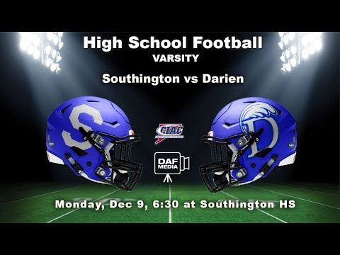Darien Varsity Football Vs. Southington