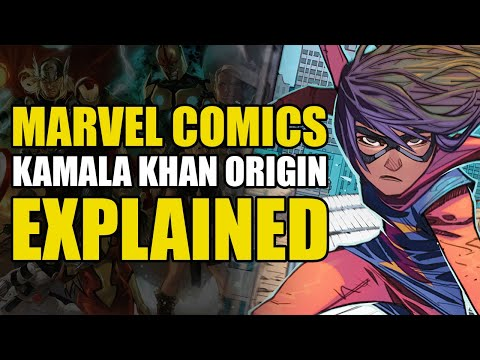 Marvel Comics: Kamala Khan/Ms. Marvel Explained