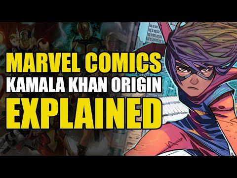 Marvel Comics: Kamala Khan/Ms. Marvel Explained