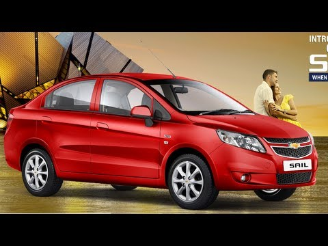 Chevrolet Sail Sedan Exteriors, Interiors and Features Review By Car Blog India