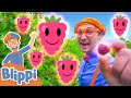Raspberry Song - Part 2 | BLIPPI Music | Educational Songs For Kids