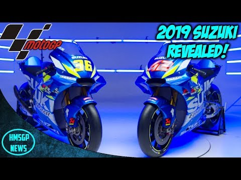 MotoGP News: Team Suzuki Ecstar Reveal Their 2019 GSX-RR!