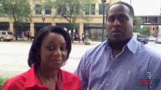 Black Trump Supporters from Chicago: We Don't Want 'Witch' Crooked Hillary Clinton 7/28/16 2017 Video