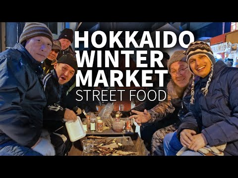 Hokkaido Winter Market & Street Food Experience ★ ONLY in JAPAN