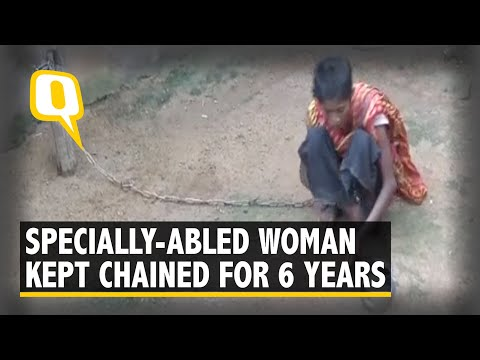 Chained For Six Years, Specially-Abled Woman Rescued in Odisha I The Quint