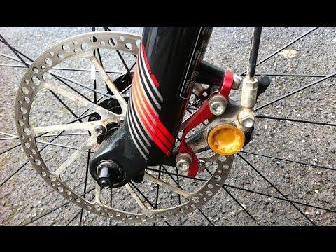 Почему передний тормоз эффективнее останавливает велосипед.