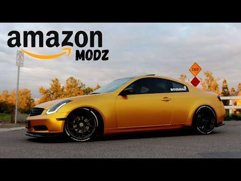 Top 5 AMAZON Mods Under $50 For G35 / 350z / G37
