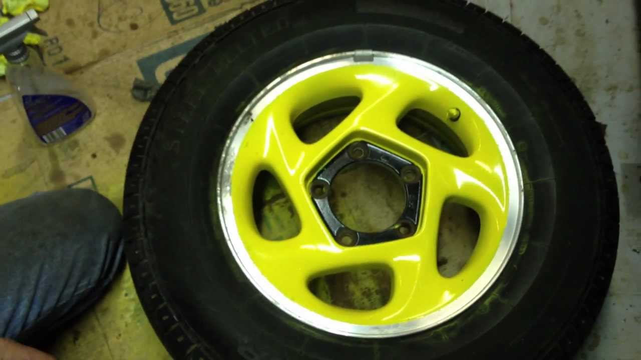 small resolution of my wifes 1995 geo tracker wheel paint joke
