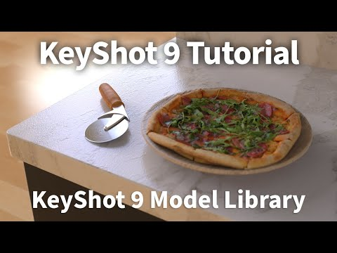 KeyShot 9 Feature Tutorial - Model Library thumbnail