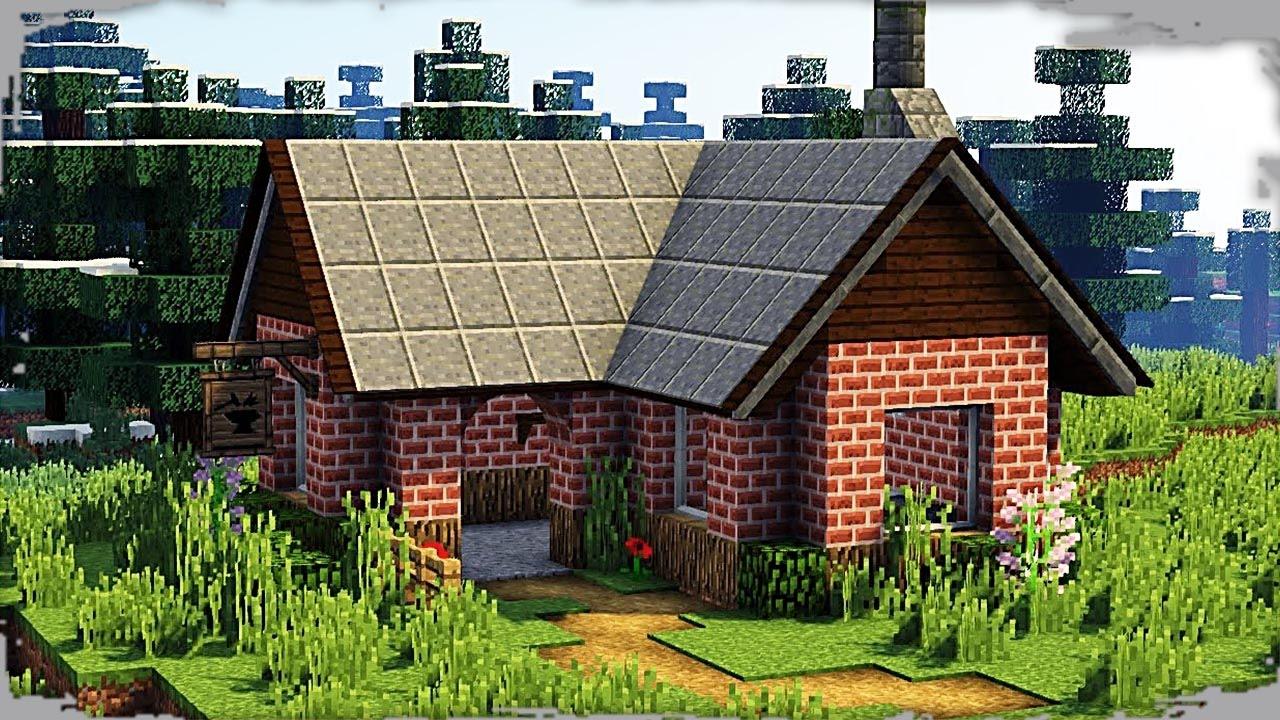 Minecraft casas como hacer la casa mas realista de - Casas en la provenza ...