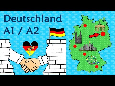 Deutsch A1 / A2:  Deutschland - Geographie & Kultur / Learn German: Geography & Culture in Germany