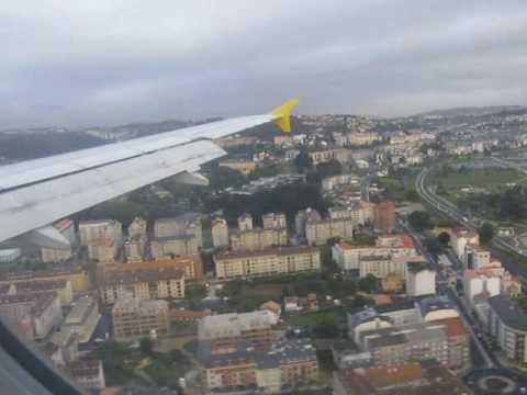 AIRBUS A320-200 MANIOBRA DE APROXIMACIÓN AL AEROPUERTO DE ALVEDRO