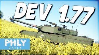 WAR THUNDER 1.77 DEV | Abrams, Challenger, T-64B & MORE (War Thunder Update 1.77)
