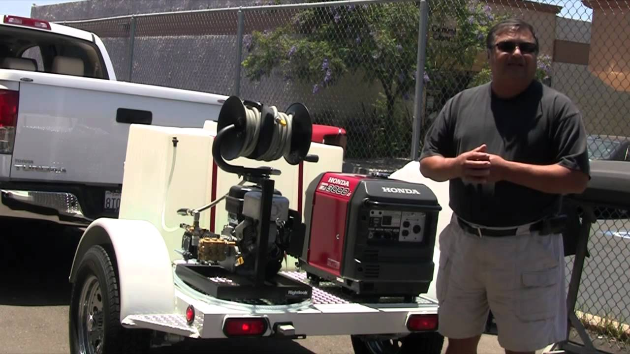 Mobile Auto Detailing Trailer Pick Up By Robert Martinez