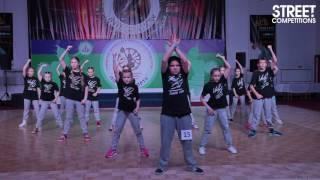 Street Competitions 2017 - Хип-Хоп формейшен, дети
